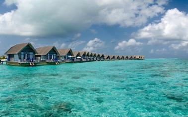 Cocoa Island, los botes dhoni en las Maldivas