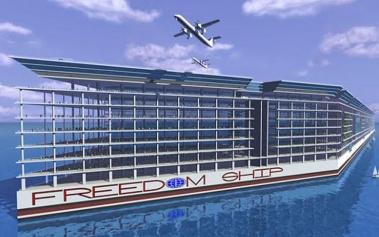 FREEDOM SHIP INTERNATIONAL, LA CIUDAD DEL MAR