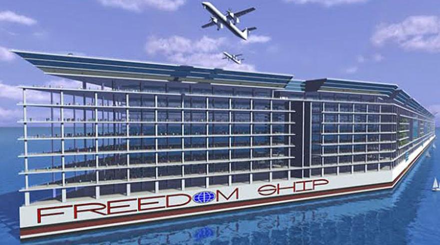 Freedom Ship, proyecto de ciudad flotante para vacaciones