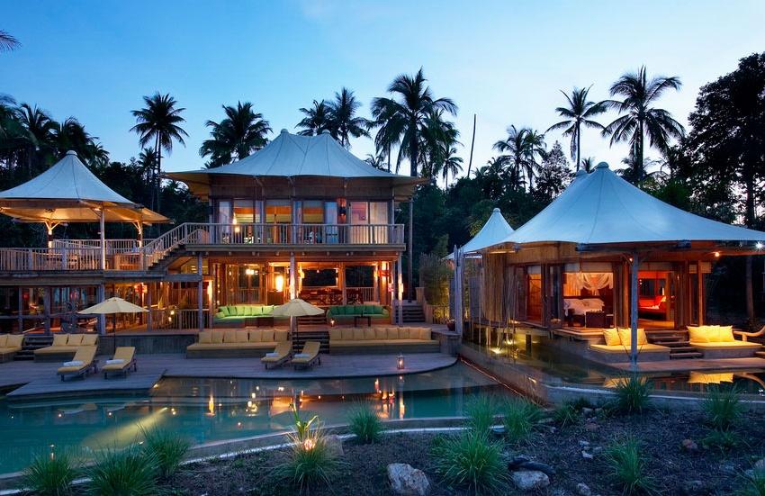 Eco Chic Soneva Kiri, un resort en una isla de ensueño