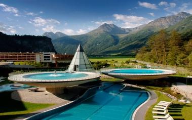 Aqua Dome Thermal Resort, el spa de tus sueños