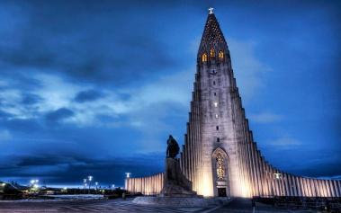 Hallgrimskirkja, la iglesia más alta de Islandia