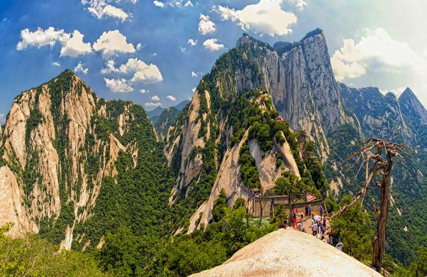 Monte HuaShan, el sendero de la montaña sagrada