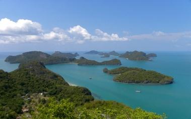 Mu Ko Ang Thong, un parque nacional con 42 islas
