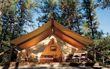 Paws Up River Camp Resort, camping de lujo en U.S.A