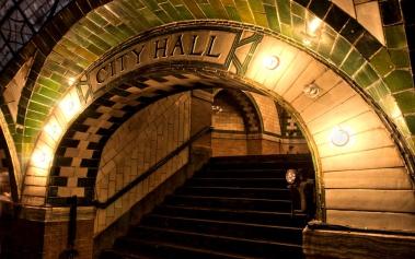 City Hall Subway Station, una estación fantasma en Nueva York