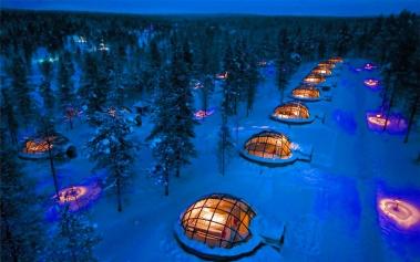 Kakslauttanen Arctic Resort, auroras boreales únicas