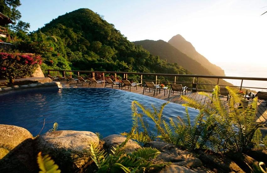 Ladera Resort Santa Lucia, enclave único en el Caribe