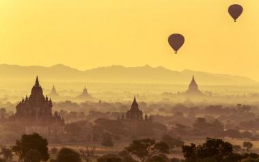 Bagan, reino de templos en el corazón de Birmania