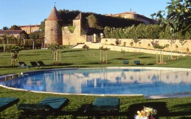 Chateau de Bagnols, en pleno corazón de Beaujolais