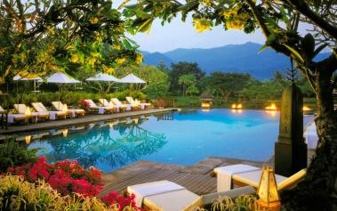 Four Seasons Resort Chiang Mai, paz y campos de arroz