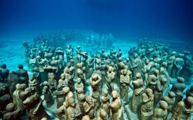 Museo Submarino, la obra de Jason de Caires Taylor