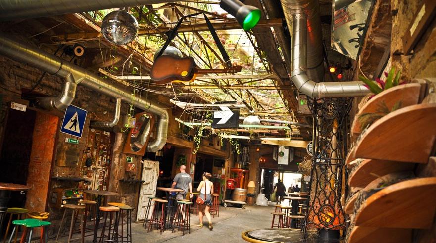 Ruins Pubs en Budapest