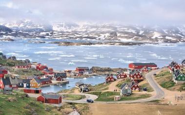Tasiilaq, un pueblo a pies del Círculo Polar Ártico