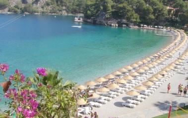 Beach Club Hillside, una bahía privada en Turquía