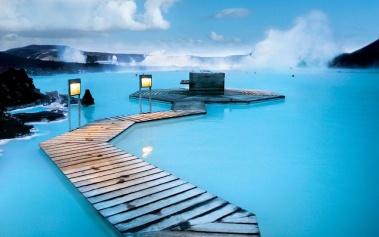 Blue Lagoon, balneario medicinal al aire libre