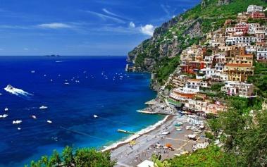 Costa Amalfitana, parte de la bella costa italiana