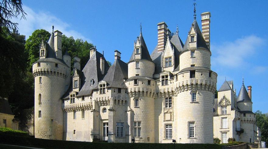 El castillo de la bella durmiente chateau d use - Castillo de azay le rideau ...