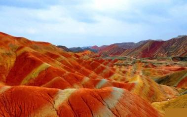 Montañas Danxia: montañas sagradas de colores