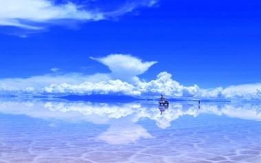 Salar de Uyuni, un espejo gigante en Bolivia