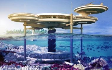 Water Discus Hotel: bajo las aguas de Dubai