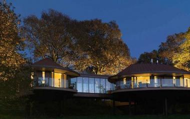 Chewton Glen Hotel & Spa: con suites en los árboles