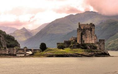 Castillo Eilean Donan: el castillo de Braveheart