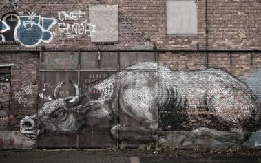 Doel: una ciudad fantasma llena de arte callejero