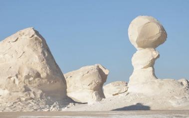 El Desierto Blanco: con su arena blanca es único en el mundo