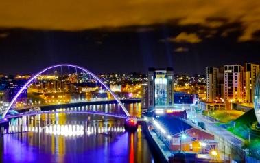Puente Gateshead Millennium: una maravilla arquitectónica
