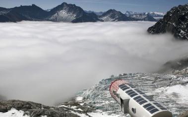 Refugio Gervasutti: un cabaña en lo alto del Mont Blanc