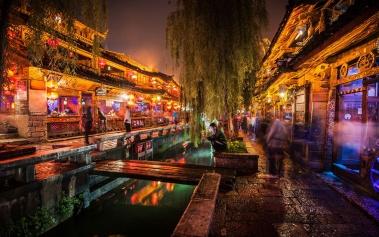 """Antigua Ciudad de Lijian: la """"Venecia del Este"""""""
