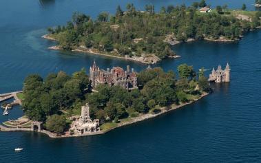 Castillo Boldt: una residencia de verano de ensueño