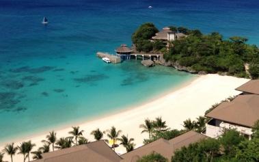 Hotel Shangri-la Boracay: un resort en las laderas de la isla