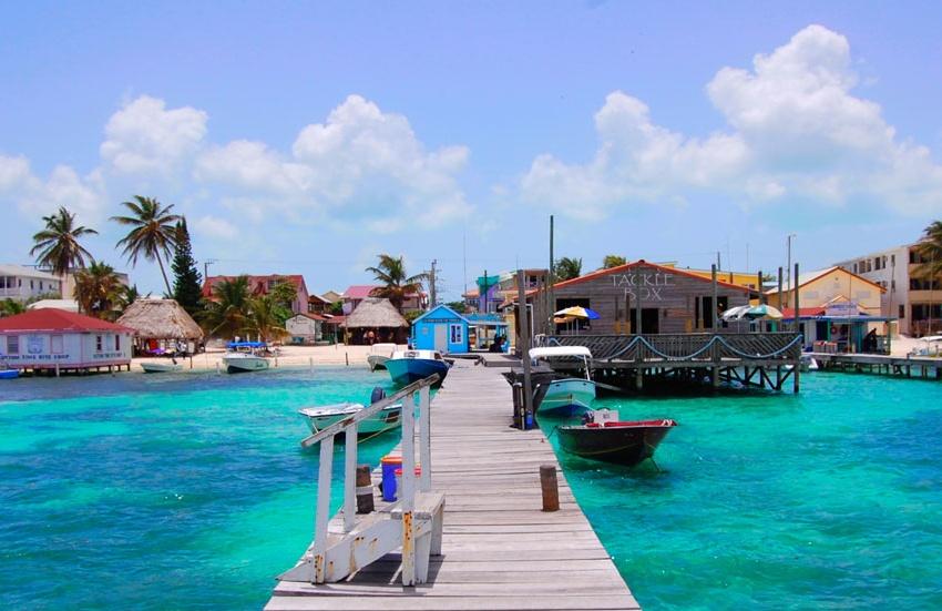 Islas Paradisiacas: Cayo Ambergris, frente a la costa mejicana