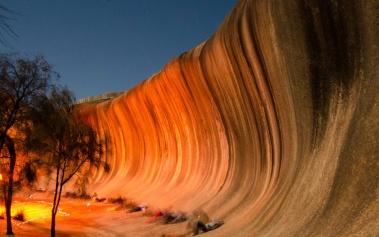 Wave Rock: una gigantesca ola hecha de roca