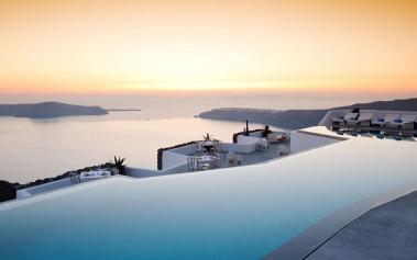 Hotel Grace Santorini: preside majestuosamente la Caldera