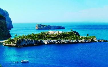 Islas Privadas: Isla sa Ferradura, en la bahía de San Miguel