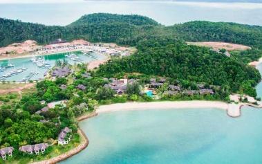 Islas Privadas: Vivanta Rebak Island, en el archipiélago de Langkawi