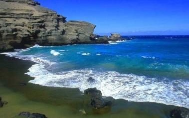 Playas Paradisiacas: Papakolea, la playa de arenas verdes