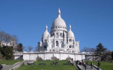 Basilica del Sagrado Corazón: en lo más alto de París