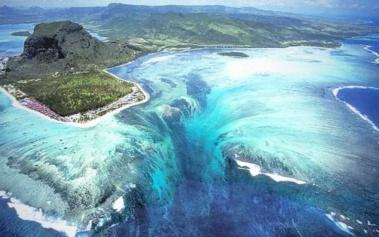 Cataratas Submarinas de Mauricio: únicas en el mundo