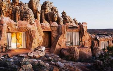Hoteles del Mundo: Kagga Kamma Lodge, en las montañas Cederberg