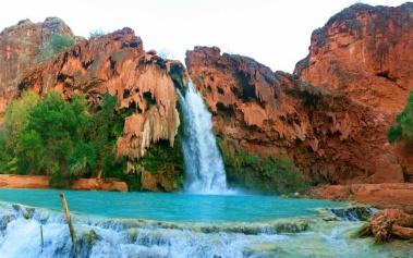 Cataratas Havasu, las más famosas del Gran Cañón
