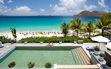 Cheval Blanc St.Barth Isle de France, exclusividad Caribeña