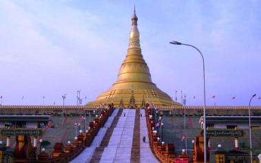 Pagoda Uppatasanti, otra maravilla en Myanmar