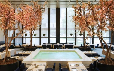 The Four Seasons Restaurant NYC: piscinas y obras de arte