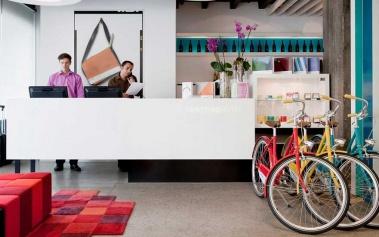 Pantone Hotel: un colorido hotel boutique en Bruselas