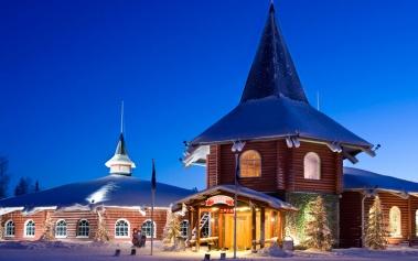 Santa Claus Holiday Village: en el pueblo de Papa Noel