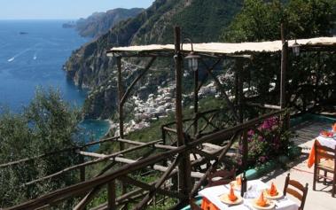 Trattoria La Tagliata: la cocina de Positano